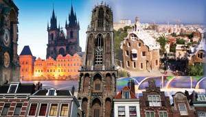 Utrecht richt zich dit jaar op Barcelona en Praag.