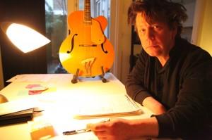De muzikant Herman Pouderoyen houdt zich aan dichterlijke conventies. Foto: Peter le Nobel