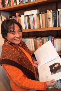 Rihana Jamaludin keek zelfs in modebladen om te bedenken hoe Regina Winter eruit moest zien. Foto: Peter le Nobel