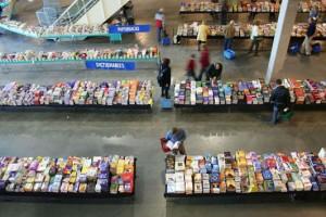 Liefhebbers kunnen snuffelen tussen zeker een miljoen boeken.