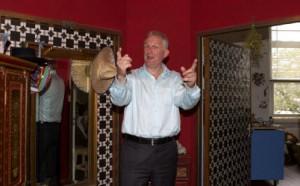 Wim de Bie is een van de verhalenvertellers. Foto: Annelies Doom